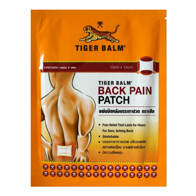 Patch Tiger Balm Back Pain