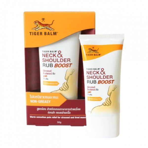 Tiger balm neck and shoulder rub boost 50g