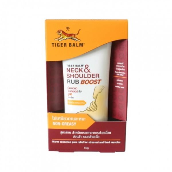 Tiger balm neck and shoulder rub boost 50g