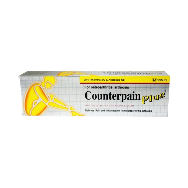 Counterpain Plus analgesic gel 50g