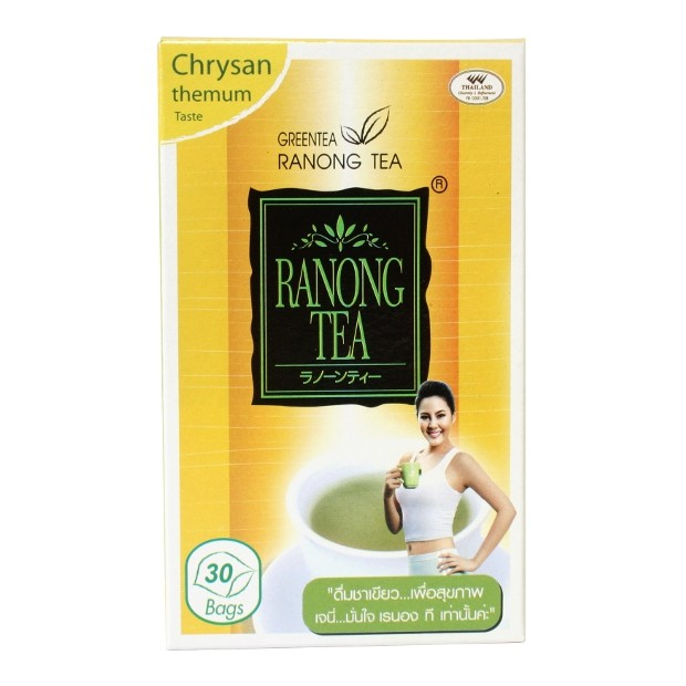 Ranong Tea – Chrysanthemum Green Tea – 30 Tea Bags