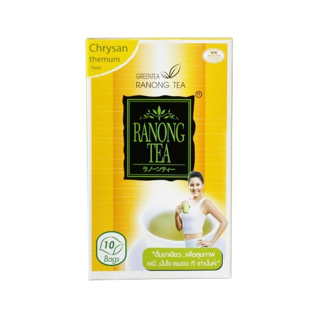 Ranong Tea – Chrysanthemum Green Tea – 10 Tea Bags