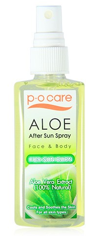 Aloe Vera after sun spray